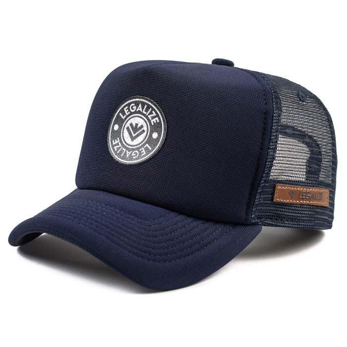 Boné Trucker Azul Marinho ▴ Urban - Apply▴ LEGALIZE 56ad663c444