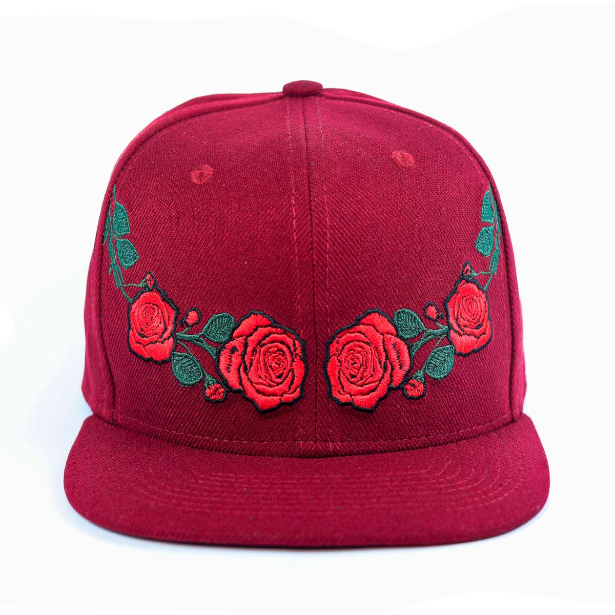 Boné 6 gomos - Bow of Roses aba reta  63716447cd4