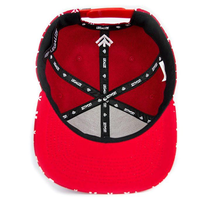 Boné Aba Reta Vermelho - Supremacy  73eb14dd51f