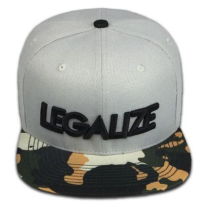 Boné Legalize Aba Reta Cinza - Eroika Caps 061e4f2abf7